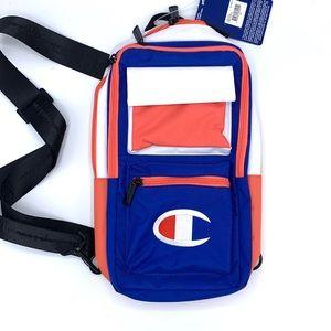 Champion Single Strap Cross Body Bag.  NWT
